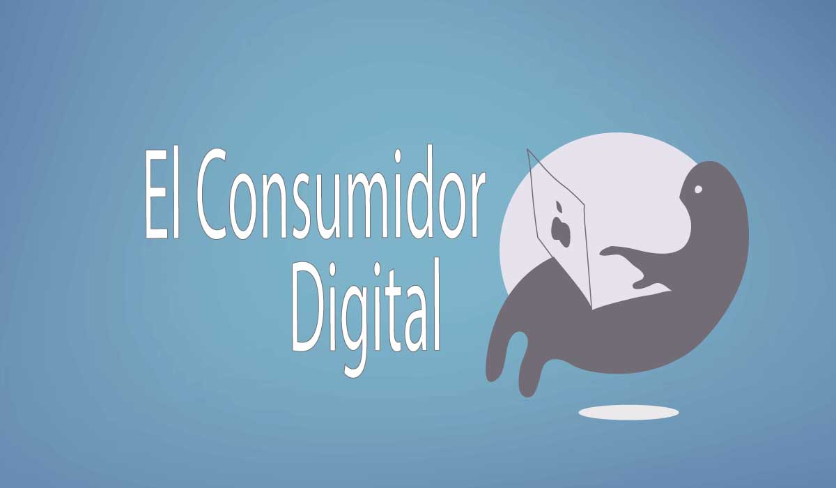 banner decorativo del consumidor digital