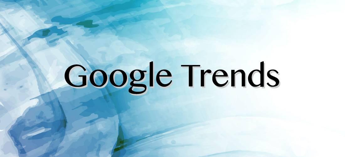 Banner Google Trends