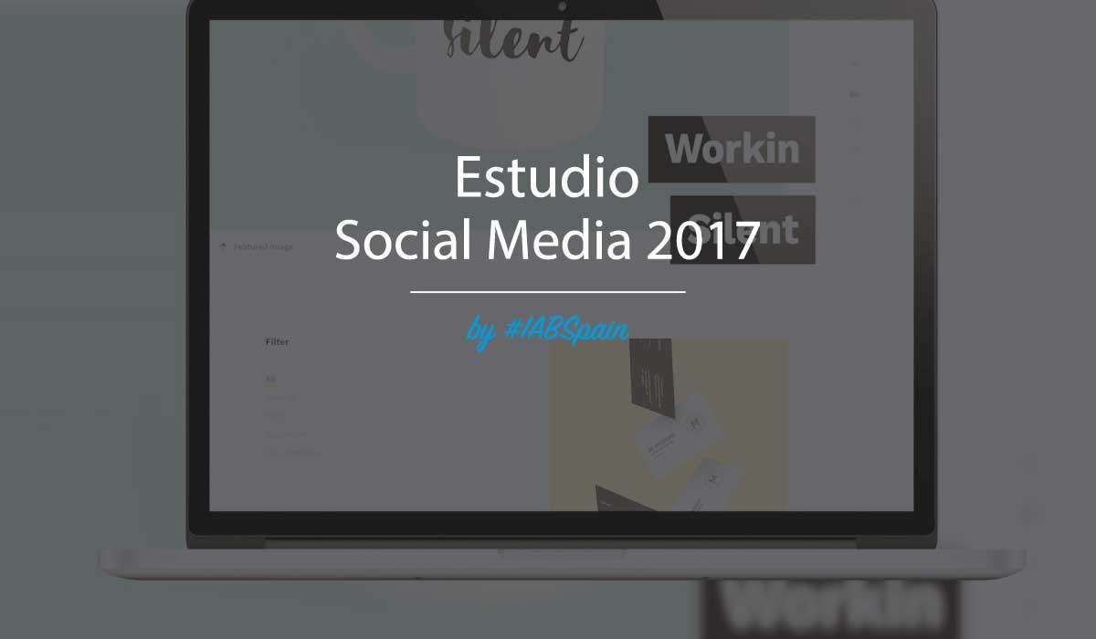 Banner Estudio Social Media, elaborado por IAB Spain